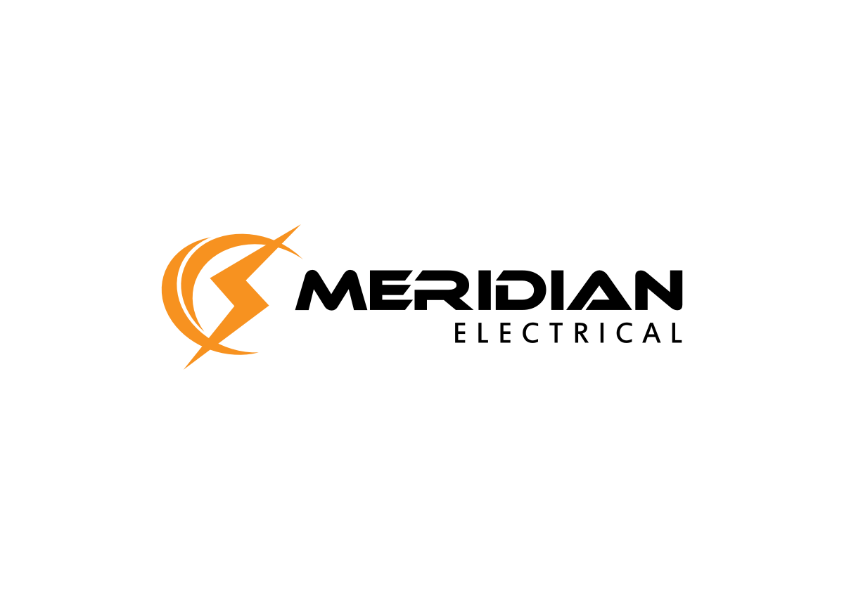 Elegant Playful Electrical Logo Design For Meridian