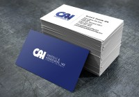 Masculine, Upmarket, Accounting Business Card Design for a ...
