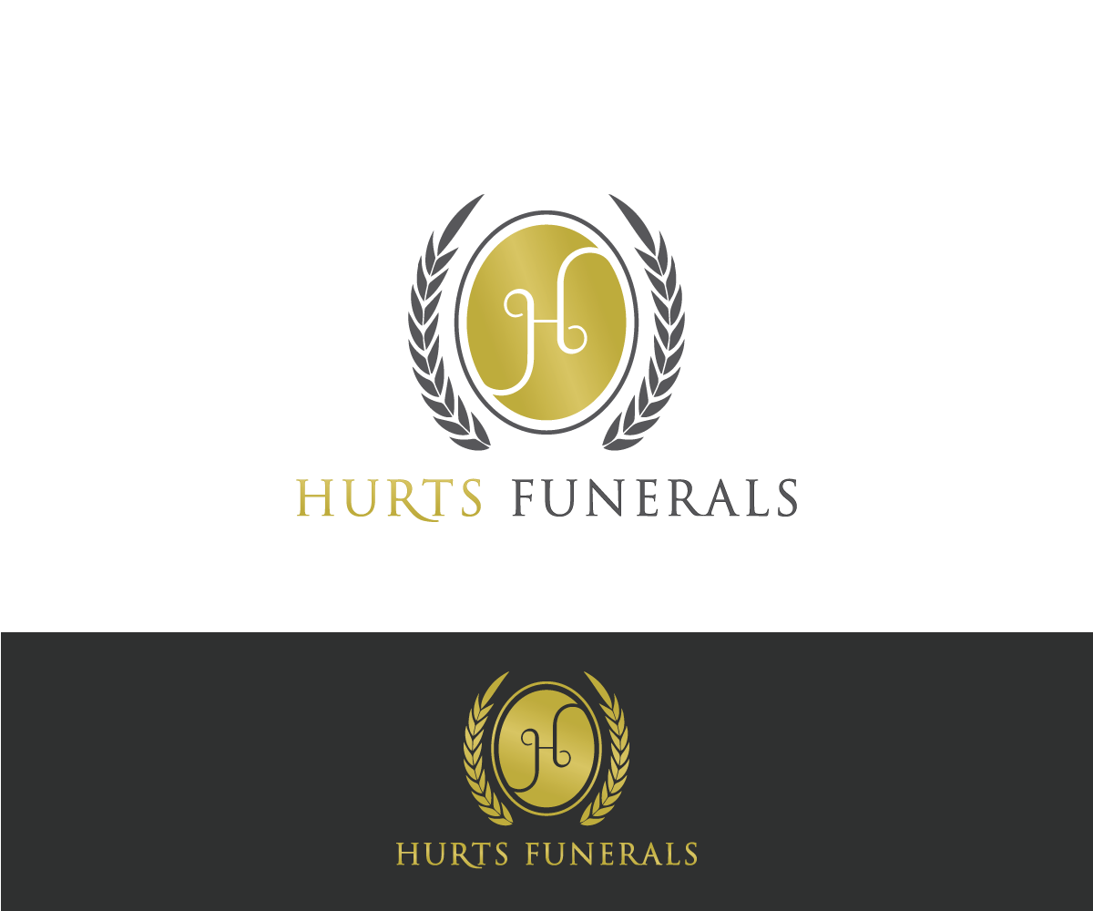 Elegant Playful Logo Design For Hurt''s Funeral Home By Mario
