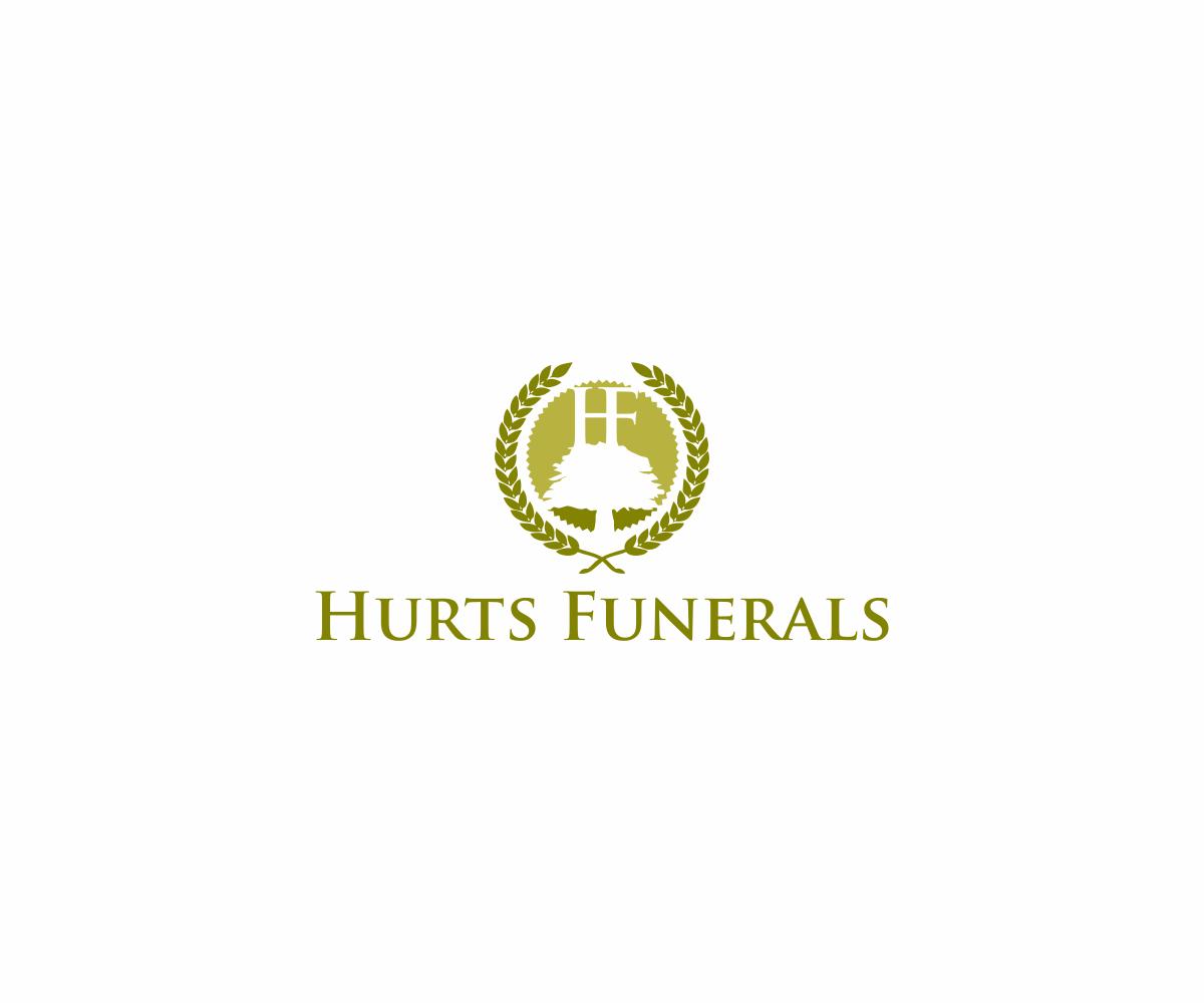 Elegant Playful Logo Design For Hurt''s Funeral Home By DvynaArt