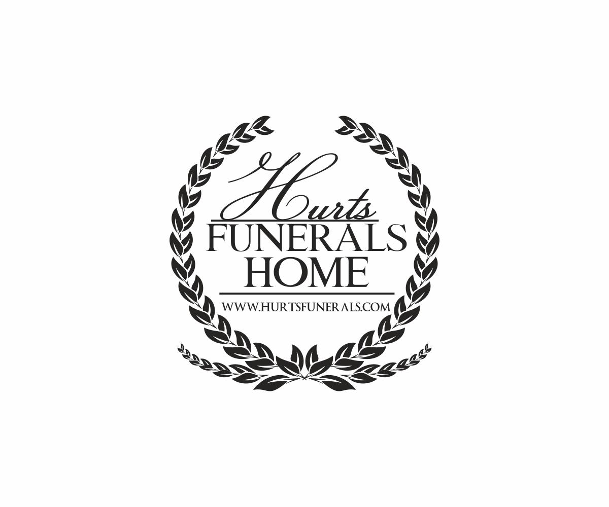 102 Elegant Playful Funeral Home Logo Designs For HURTSFUNERALS A