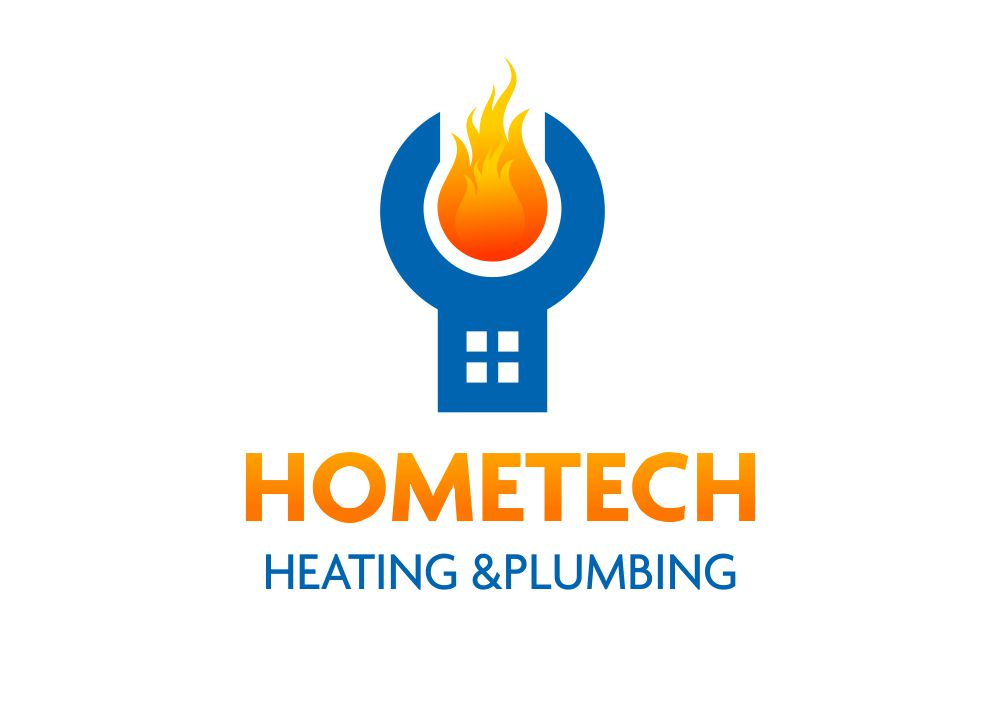 It Company Logo Design For Hometech Heating Amp Plumbing By Esolz Technologies Design 7360330