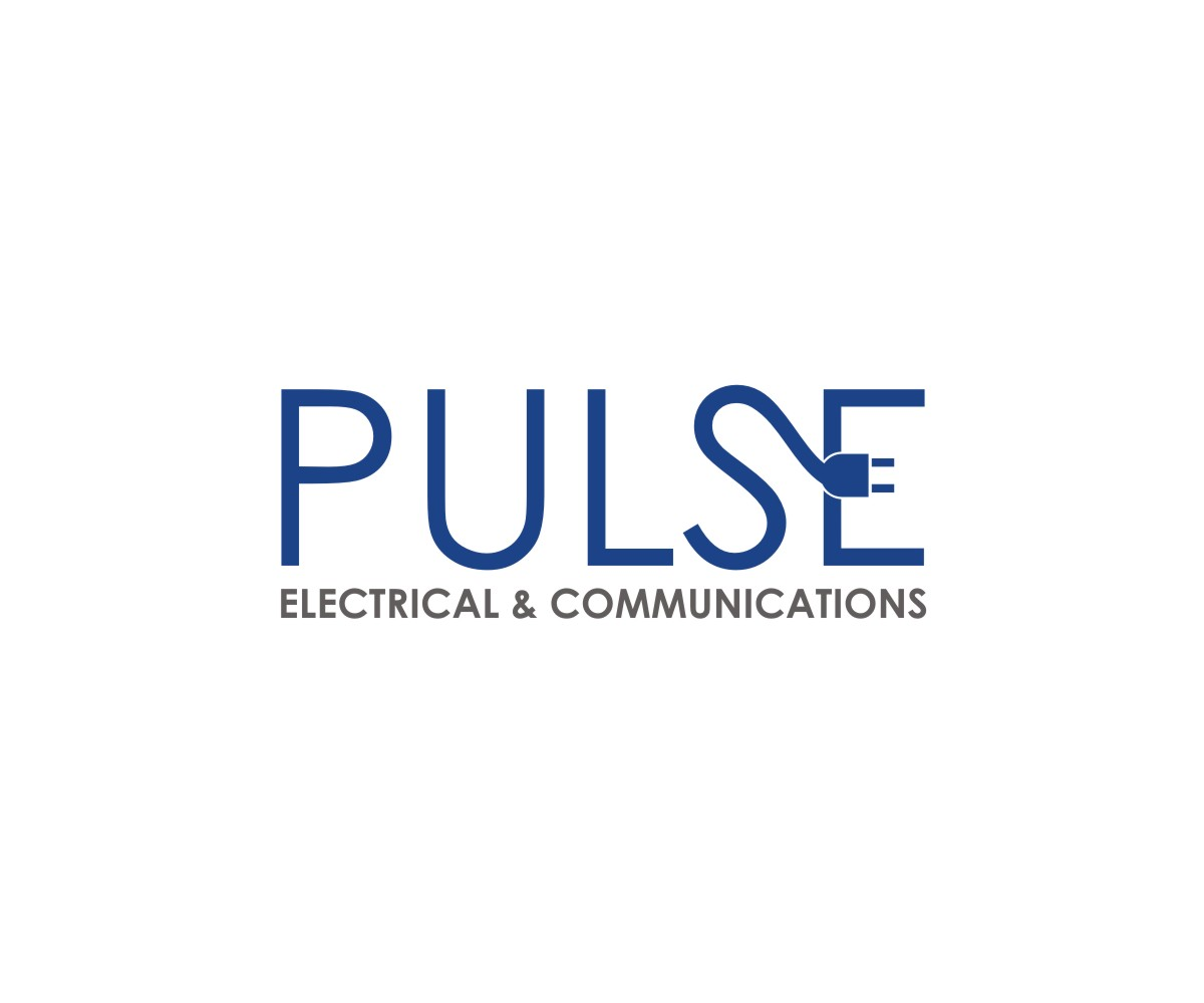 Professional Serious Electrical Logo Design For Pulse