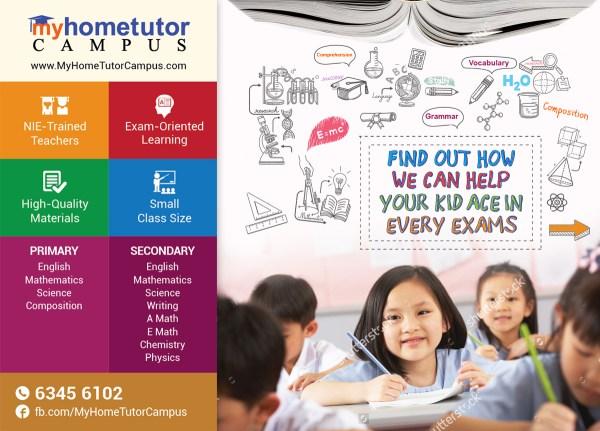 Bold Modern Education Poster Design Company