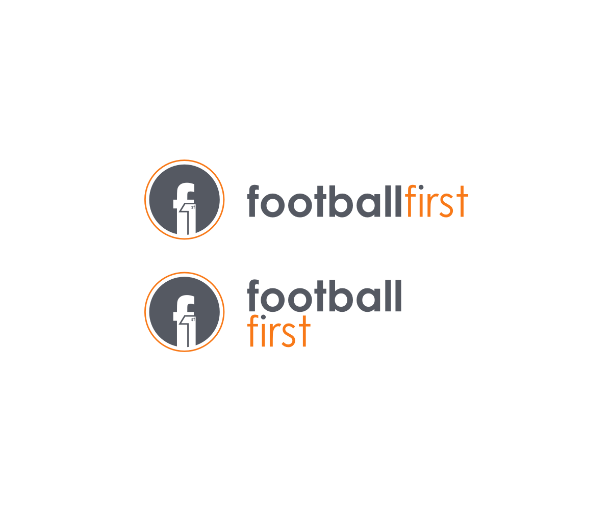 Professional, Masculine Logo Design for FOOTBALL FIRST by