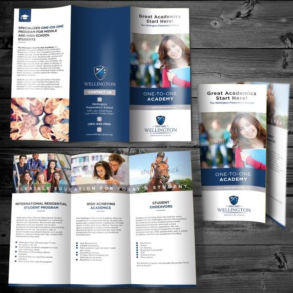Traditional Elegant Education Flyer Design