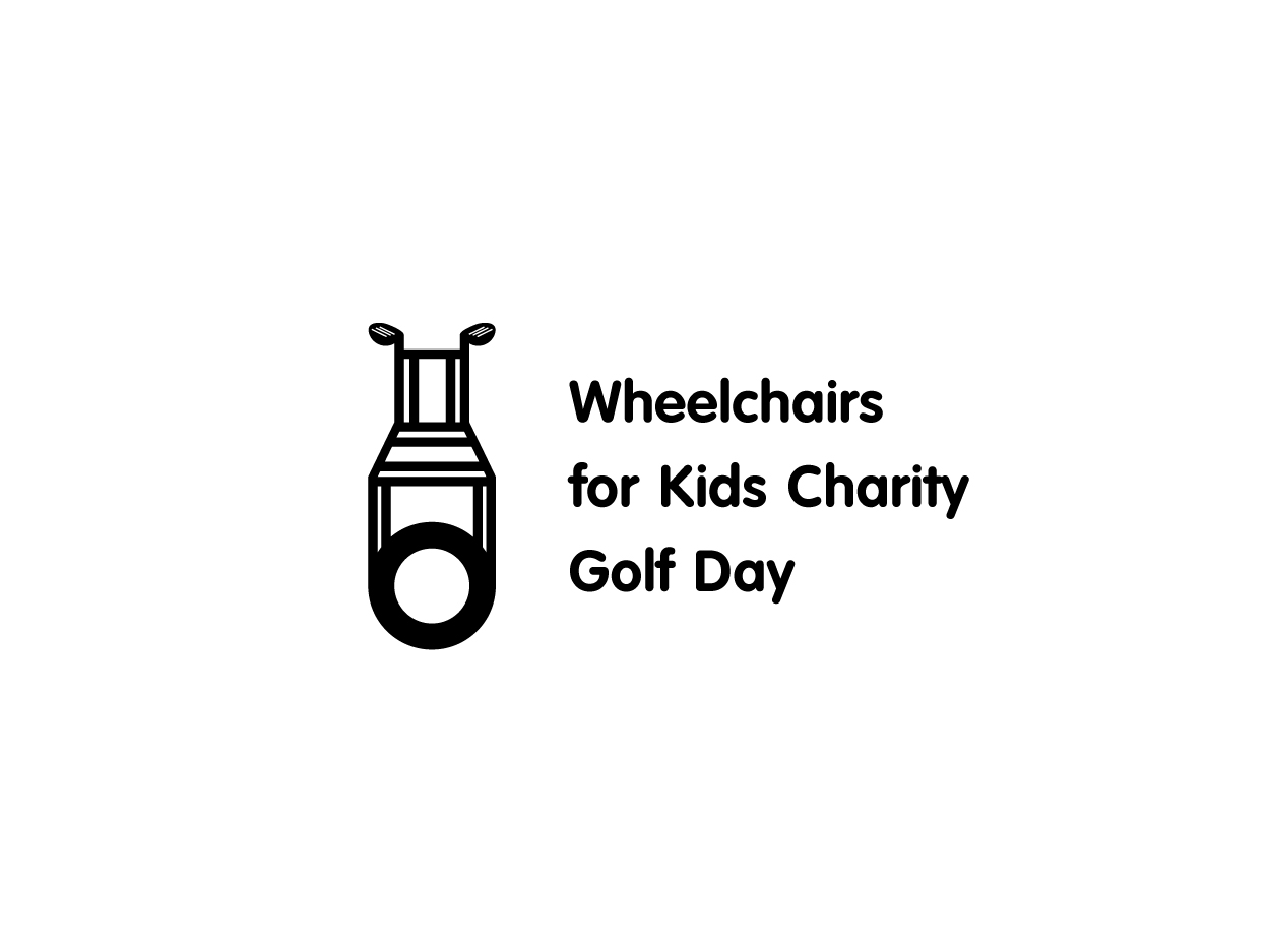 Charity Logo Design for Wheelchairs for Kids Charity Golf