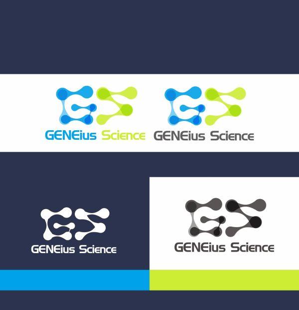 Bold Playful Education Logo Design Geneius Science