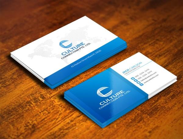 Upmarket Education Business Card Design
