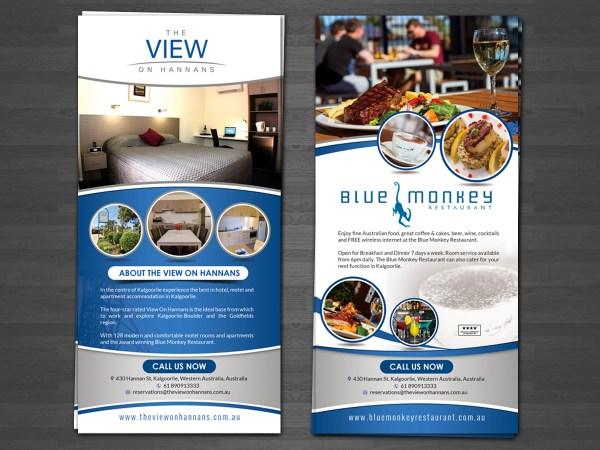 Modern Restaurant Flyer Design Company Hih7 #9645193