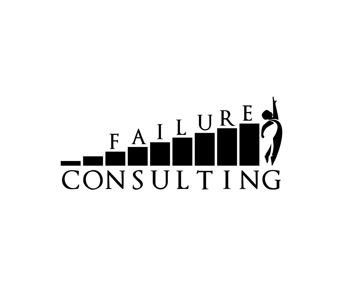 Bold Serious Management Consulting Logo Design For