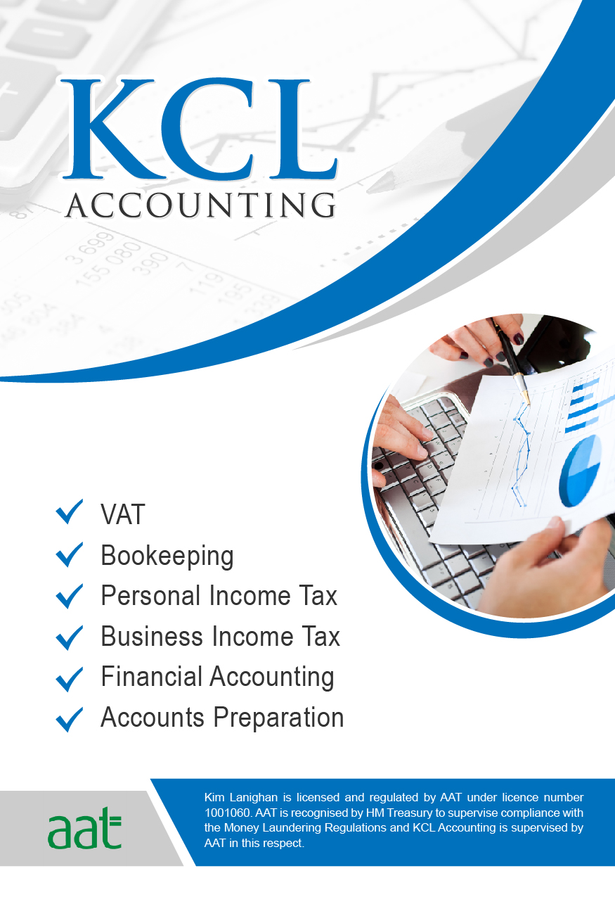 Elegant Playful Accounting Flyer Design For KCL