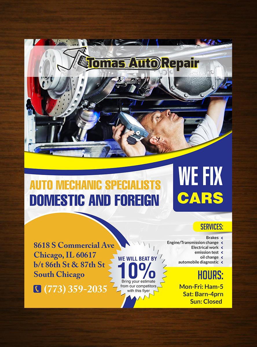 serious bold car repair