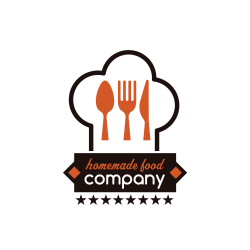 Creative Food Logo Design Png