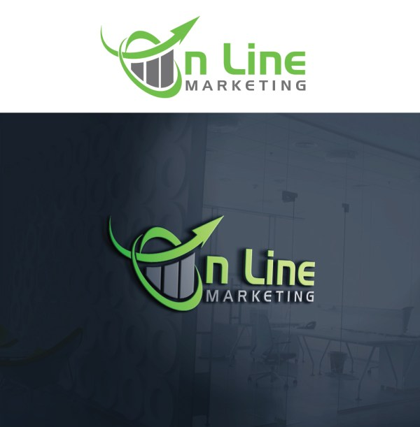 Modern Upmarket Business Logo Design Line