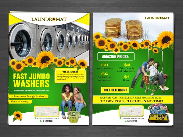 Playful Flyer Design Coin Project Yellowfin Trading Pty