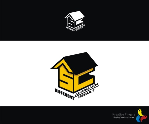 Professional Logo Design Text. Mind With