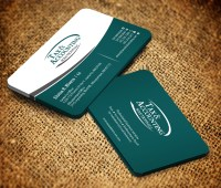 Modern, Elegant, Accounting Business Card Design for a ...