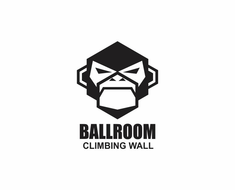 Bold, Modern, Gym Logo Design for Ballroom Climbing Wall