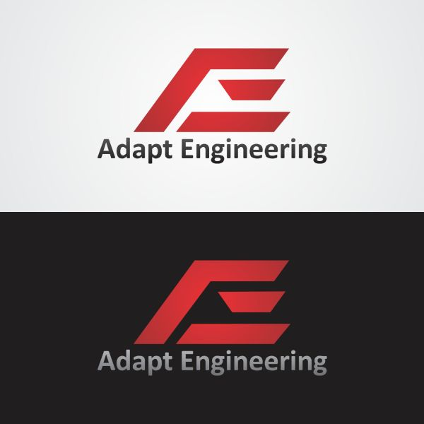 Bold Engineering Logo Design Adapt