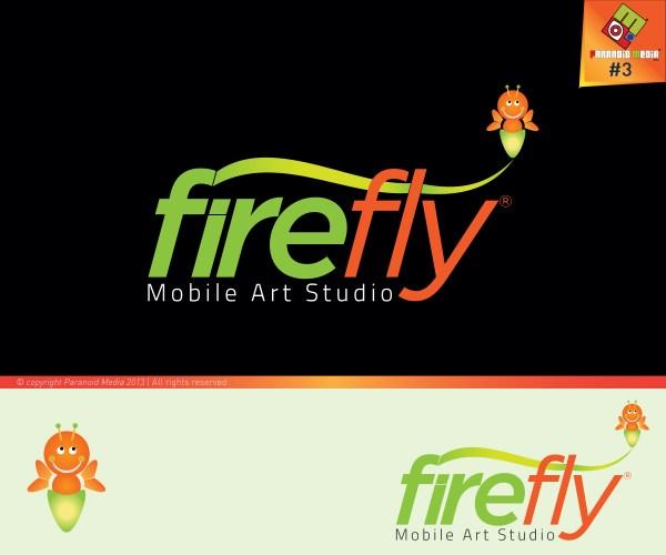 Bold Playful Paint Logo Design Firefly Mobile Art Studio Atum Kreative #2394056