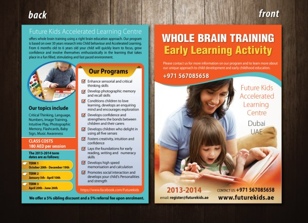 Playful Professional Training Brochure Design