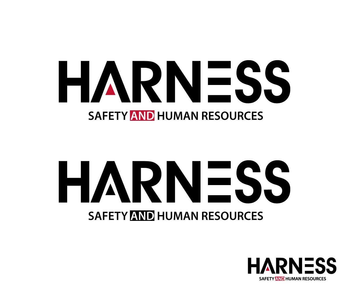 Modern Masculine Safety Logo Design For Harness With