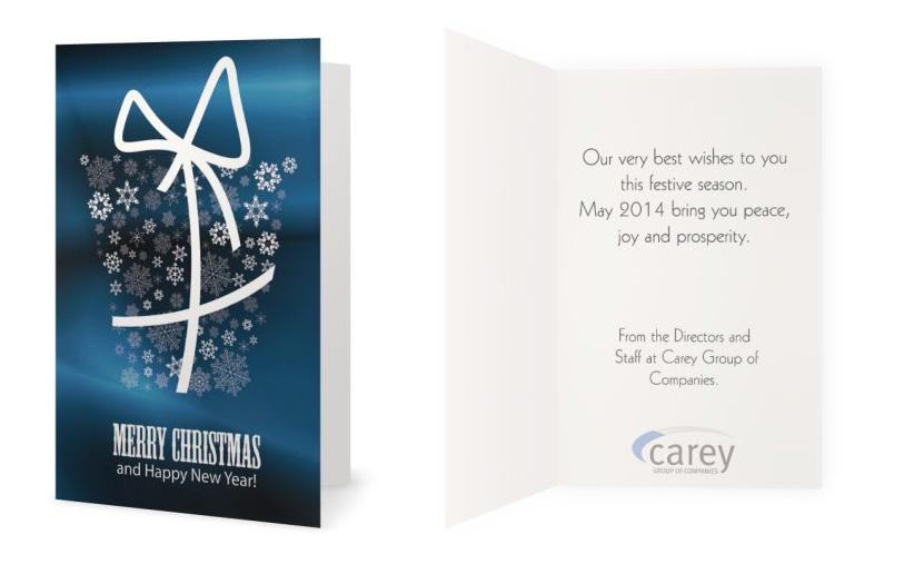 Professional Upmarket Printing Greeting Card Design For