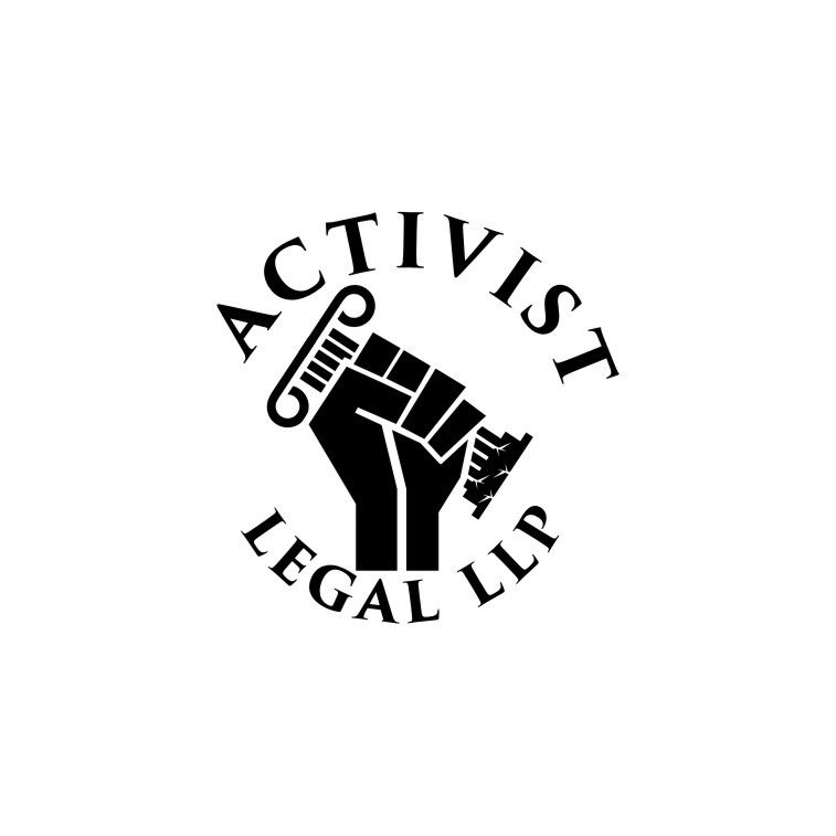 220 Bold Serious Logo Designs for Activist Legal LLP a