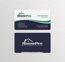 Home Improvement Business Card Designs