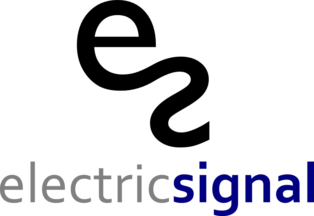 Modern Playful Logo Design For Electric Signal By Yafeth