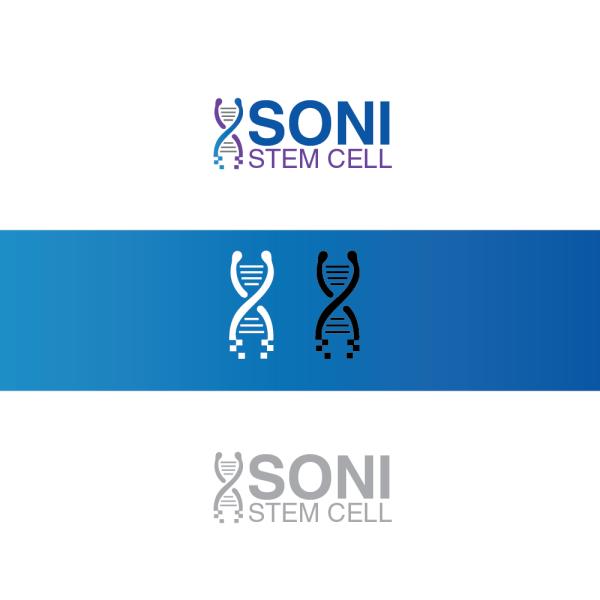 Colorful Upmarket Logo Design Soni Stem Cell
