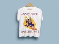 30 Playful T-shirt Designs | Pizza Delivery T-shirt Design ...