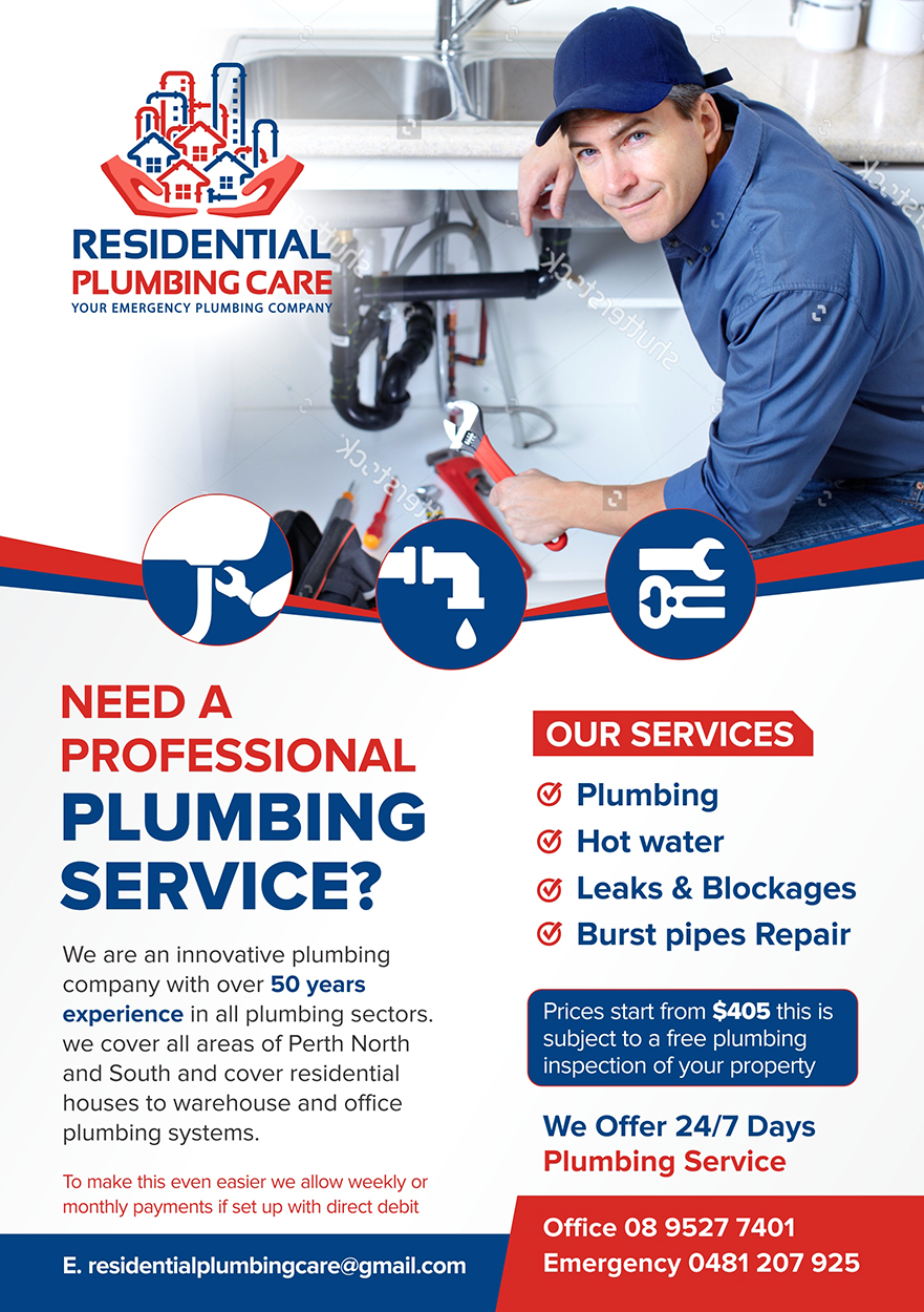Professional Economical Flyer Design For Residential