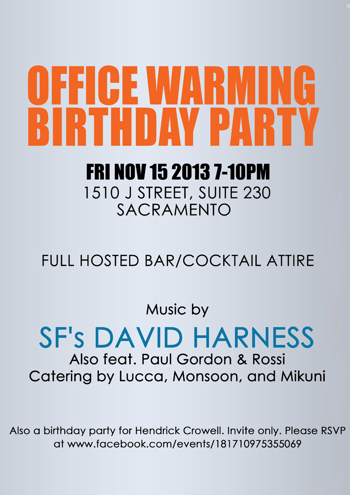 Office Warming Invitation Wording