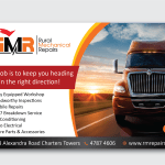 Elegant Playful Mechanic Banner Ad Design For Rural Mechanical Repairs By Alex989 Design 16486344