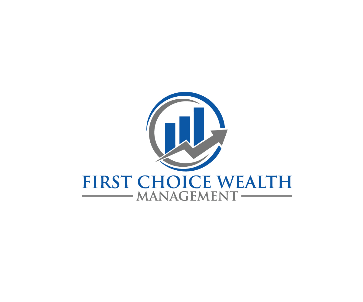 Bold, Serious, Financial Planning Logo Design for First