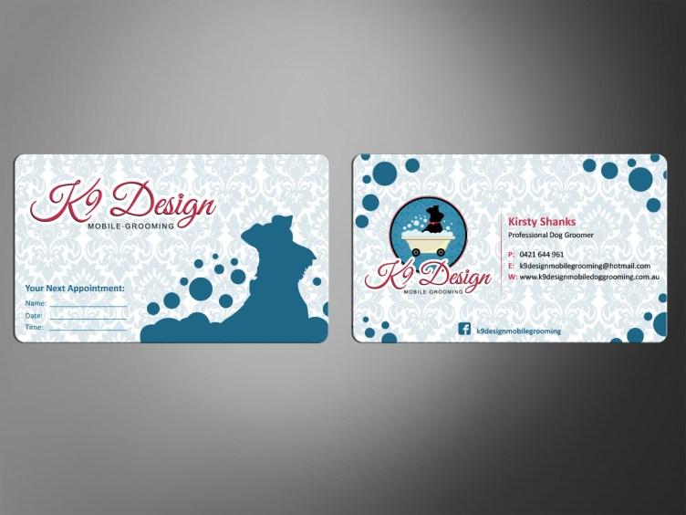 Bold, Modern, Business Business Card Design for K9 Design ...