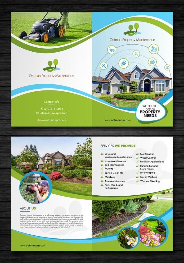 Triptych Bold Brochure Design