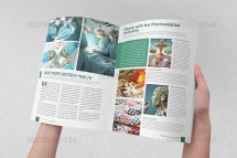 Bold Modern Finance Magazine Design Sr-design