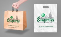 Elegant, Playful, Grocery Store Bag and Tote Design for a ...