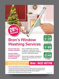 Window Cleaning Flyer Design for a Company by rkailas ...