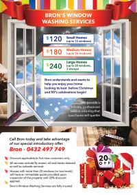 Window Cleaning Flyer Design for a Company by Phuong Anh ...
