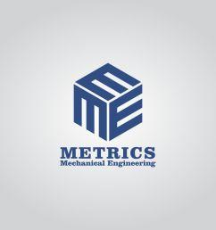 logo design by dyogab83 for metrics mechanical engineering design 18296067 [ 1200 x 1000 Pixel ]