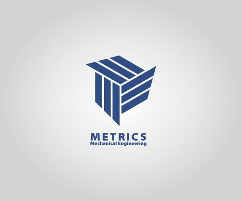 small resolution of logo design by dyogab83 for metrics mechanical engineering design 18345711