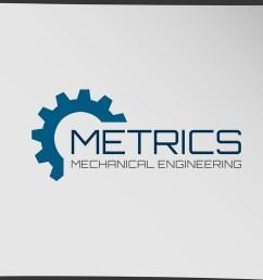 logo design by seobizplanet1 for metrics mechanical engineering design 18218039 [ 1000 x 1000 Pixel ]