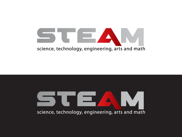 Modern Bold -profit Logo Design Steam In