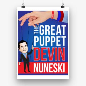 election poster generator design