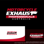 Logo Design For Motorcycle Exhaust Professionals Australia By Alvinnavarra Design 19906826