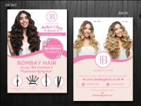 Hair Extensions Company. Need a flyer for upcoming event ...